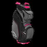 CALLAWAY ORG 14 2019 CART BAG titanium/black/pink