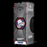 Callaway Chrome Soft X TRUVIS WHT/BLU SE 12ks lopty