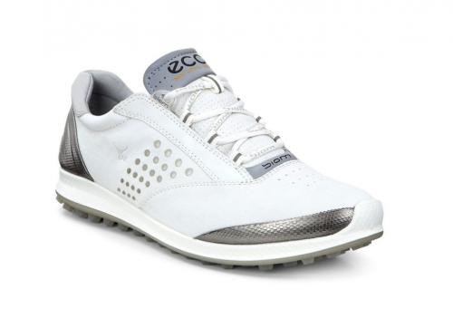 ECCO BIOM HYBRID 2 White Buffed Silver topánky - Golfové palice ... 26a879836b6