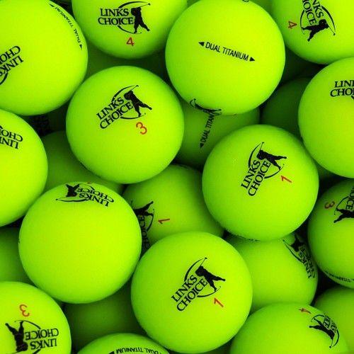LINKS CHOICE NEW MATTE GREEN BALLS 1KS