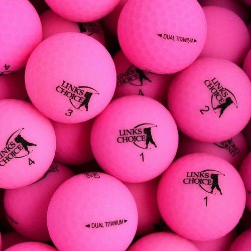 LINKS CHOICE NEW MATTE PINK BALLS 1KS