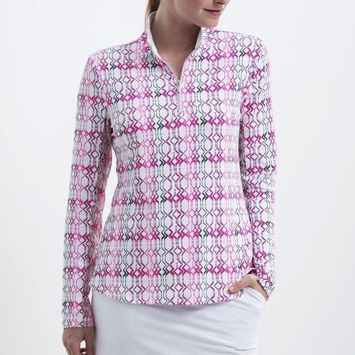 b28238dd4644 Nivo Lilly Mock white dámske tričko s dlhým rukávom - Golfové palice ...
