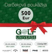 500€ Darčeková poukážka