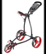 BigMax Blade+ Trolley vozík čierny/červené kolieska