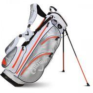 Callaway AquaDry 14 Stand Bag white/silver/orange