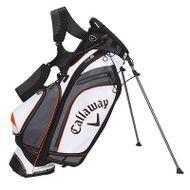 Callaway Hyperlite 5 Stand Bag 2014 WHITE/BLACK/ORANGE
