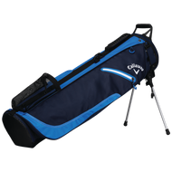 Callaway Hyperlite 1+ double strap pencil Stand Bag 2018 Navy/Royal