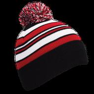 Callaway Pom Pom Beanie čiapka čierna/červená