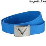 Callaway Webbed Chev Belt magnetic blue opasok