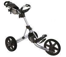 Clicgear 3.5+ vozík strieborný/čierne kolieska + DARČEK