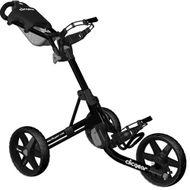 Clicgear 3.5+ vozík čierny lesklý/čierne kolieska + DARČEK