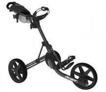 Clicgear 3.5+ vozík čierny matný/čierne kolieska + DARČEK