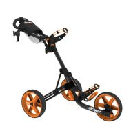 Clicgear 3.5+ vozík čierny/oranžové kolieska + DARČEK