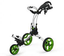 Clicgear ROVIC RV1C vozík biley/zelené kolieska