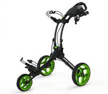 Clicgear ROVIC RV1C vozík čierny/zelené kolieska
