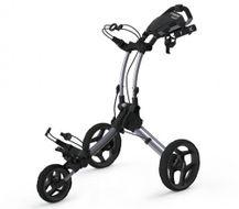 Clicgear ROVIC RV1C vozík strieborný/čierne kolieska