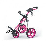 Clicgear ROVIC RV3J juniorský vozík ružový/čierne kolieska