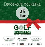 25€ Darčeková poukážka