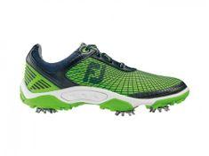 FootJoy Junior HyperFlex Navy/Electric Green topánky