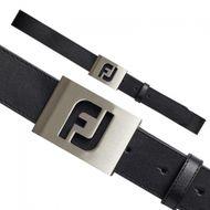 FootJoy Leather Belt black opasok
