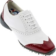 FootJoy Lopro Collection III ladies White/red topánky