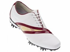 FootJoy Lopro Collection ladies White/Red topánky