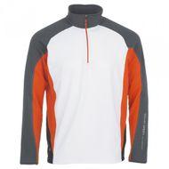 Galvin Green don pullover INSULA Jacket white/iron/red orange pánska bunda