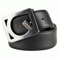 Galvin Green Web Leather Belt black opasok