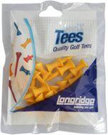 Longridge Castle Tees Plastic Yellow 25mm 20ks