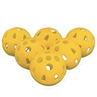 Masters Airflow XP Practice balls yellow