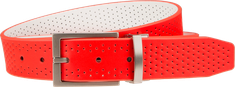 Nike Perforated Reversible Red/White opasok