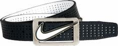 Nike Square Perforated Reversible Belt white/black opasok