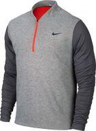 Nike TW sweater tech 1/2-zip Dark Grey Heather/Bright Crimson/Dark Grey pánska mikina