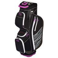 Ping Rhapsody Cart Bag black/white/purple