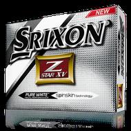 Srixon Z-Star XV pure white 6ks lopty