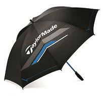 """TaylorMade 60"""" Single Canopy black/blue/grey dáždnik"""