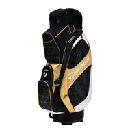 Taylormade Corza Cart Bag 2016 Black/Gold/White
