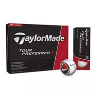 TaylorMade Tour Preferred X 2016 12ks lopty s potlačou