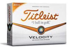 Titleist Velocity 2014 12ks lopty s potlačou