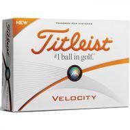 Titleist Velocity 2016 12ks lopty s potlačou