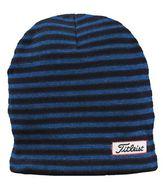 Titleist winter beanie Men's striped čiapka čierna/modrá