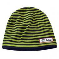 Titleist winter beanie Men's striped čiapka čierna/zelená