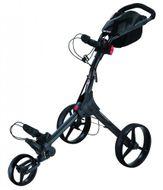 BigMax IQ+ golfcart vozík čierny/čierne kolieska