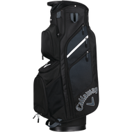 Callaway Chev Org 18 Cart Bag black/titanium/white