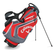 Callaway Chev Stand Bag 2016 red/charcoal/white