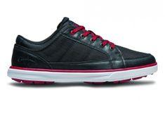 Callaway Del Mar Ballistic Black/Black/Crimson topánky