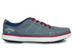 Callaway Delmar Sport Canvas grey/red topánky