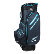 Callaway HyperDry 18 Cart bag titanium/black/neonblue