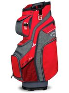 CALLAWAY ORG 14 2018 CART BAG red/titanium/white