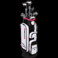 Callaway Solaire 2016 grafit ružový dámsky golfový set